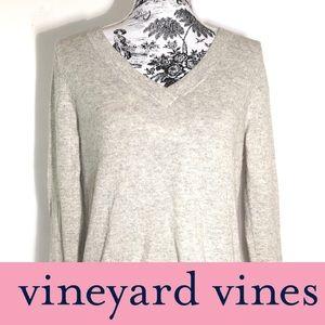 VINEYARD VINES Cashmere Blend Sweater SZ XS Gray